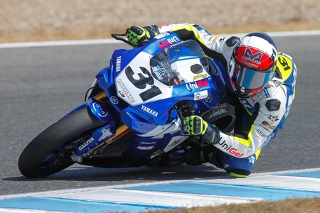 Carmelo Morales Laglisse Yamaha Eurosuperbike