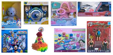 Detectados en un análisis 8 juguetes peligrosos