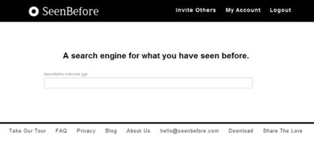 SeenBefore, busca entre todo lo que has visto en Internet
