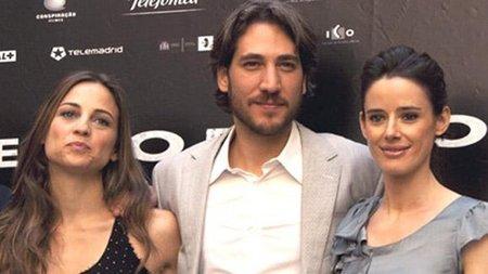 Alberto Ammann, Leonor Watling y Pilar López de Ayala en 'Lope' de Vega
