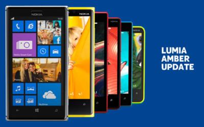 Amber comienza a llegar a los Nokia Lumia basados en Windows Phone 8