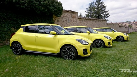 Suzuki Swift Sport 2018 Prueba 004