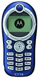 Motorola C116, sencillez ante todo