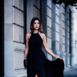 Cómo vestir de fiesta y de negro sin aburrir, las bloggers tienen el secreto