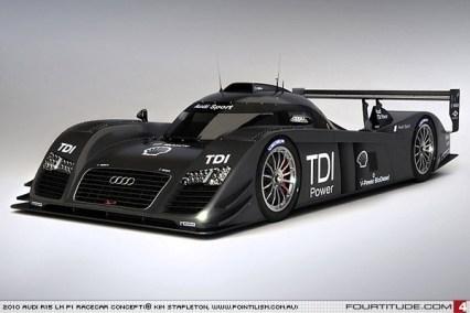 2010 Audi R15 TDI imaginado