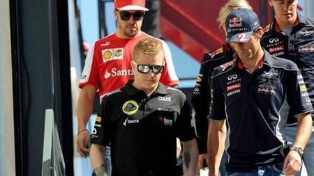 Ni Mark Webber ni Kimi Räikkönen participarán en los test de Silverstone