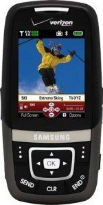 [CES 2007] Samsung u620 otro móvil TV para Verizon