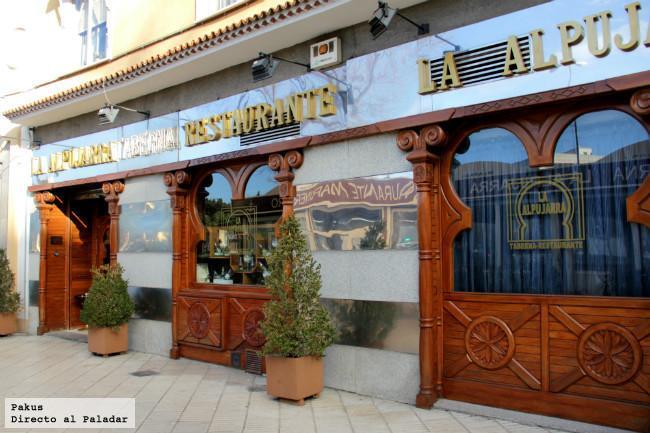 Restaurante La Alpujarra 25 Años Como Taberna Andaluza En Madrid
