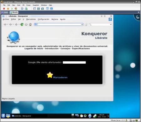 Kubuntu en VMware