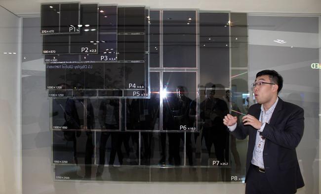La próxima línea de producción de LG permitirá paneles OLED mucho más grandes y baratos