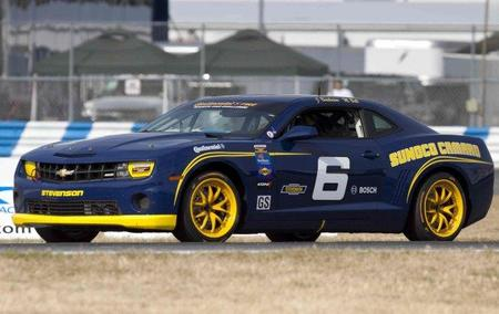 Curiosidades en Competición. Chevrolet Camaro GT3 de SaReNi United