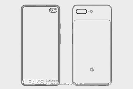 Una filtración del Pixel 4 XL lo sitúa con una pantalla perforada y cuatro cámaras, como el Galaxy S10+