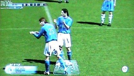 FIFA 2006 para Xbox 360 en movimiento