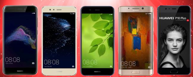 Huawei vende más smartphones pero no es la serie P10 la que mayores éxitos se lleva