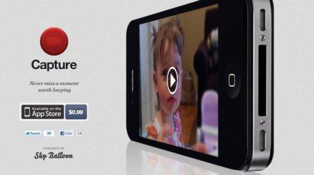 Capture: grabación de vídeo inmediata para iOS
