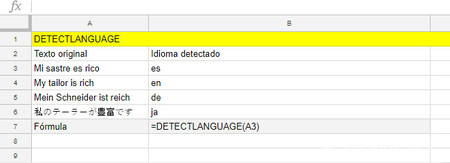 Detectlanguage