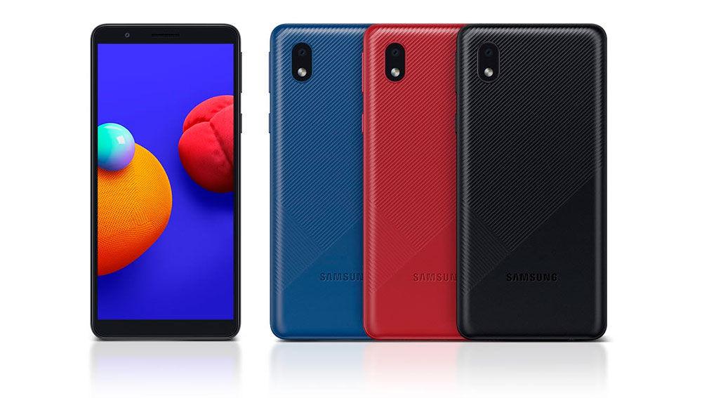 Samsung Galaxy™ A01 Core: lo mas básico de Samsung® proviene con Android-OS Go y cuesta carencia de 70 euros al cambio