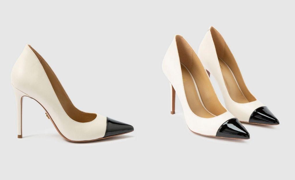 Zapatos de salón de mujer Michael Kors de piel y charol en color negro