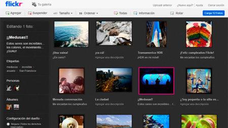 Flickr lanza su nuevo y mejorado cargador de imágenes en HTML5