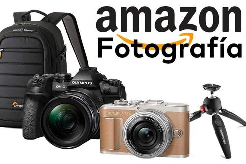Ofertas en fotografía en Amazon: cámaras compactas y sin espejo, objetivos o mochilas a precios ajustados