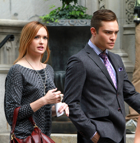 Chuck Bass Stripes Suit