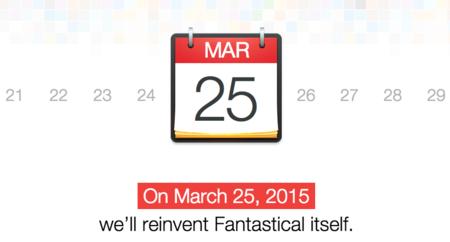 Un nuevo Fantastical para Mac llegará el 25 de marzo