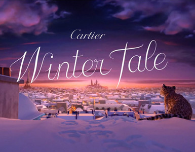 Cartier Winter Tale 2013, el cuento de Navidad firmado por Eric Bergeron