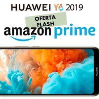 El Huawei Y6 2019 es hoy un chollo para los usuarios Prime menos exigentes: lo tenemos por sólo 89 euros hasta la medianoche