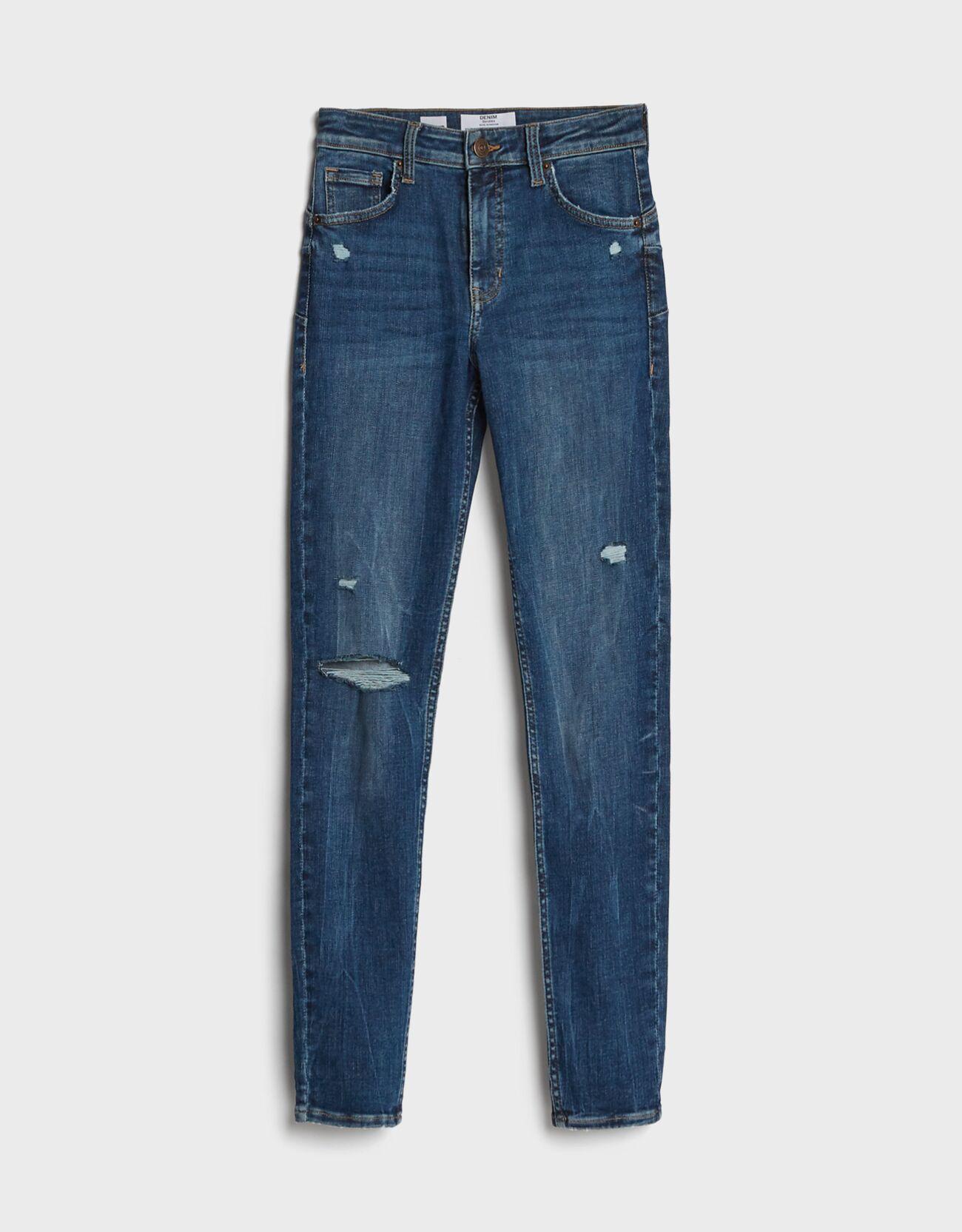 Jeans push up skinny.