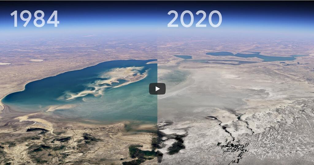 Timelapse de Google Earth: 24 millones de imágenes satelitales para crear el vídeo más grande sobre nuestro planeta