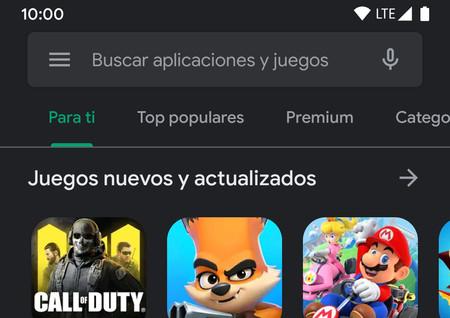Google Play Store estrena la opción de cambiar el tema de su interfaz y sus notificaciones podrían volver