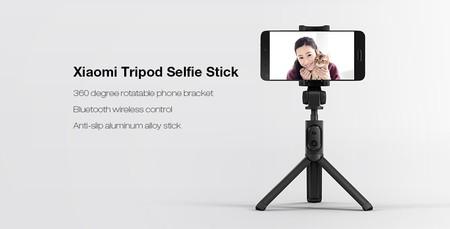Xiaomi Selfie Stick Tripod, un palo selfie con trípode y Bluetooth, por 9,50 euros y envío gratis