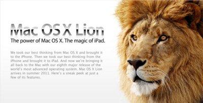 [Especial Mac OS X 10.7] Apple se afila las zarpas con la nueva versión de Mac OS X 10.7 Lion