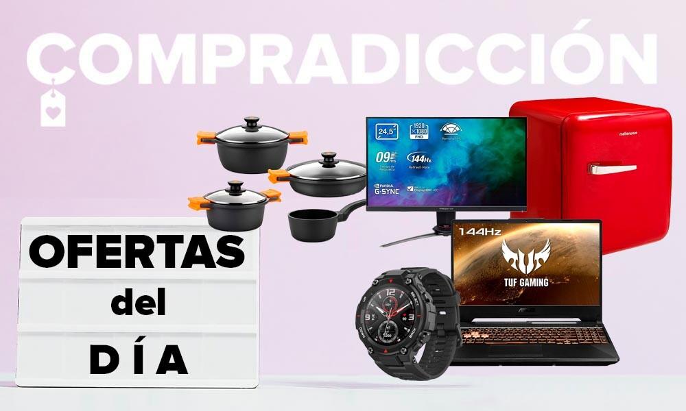 13 ofertas del día en Amazon para comenzar agosto ahorrando en portátiles ASUS, televisores Hisense, relojes Amazfit o menaje Bra