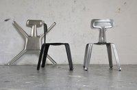 Sillas de aluminio prensadas