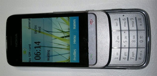 Nokia Touch and Type