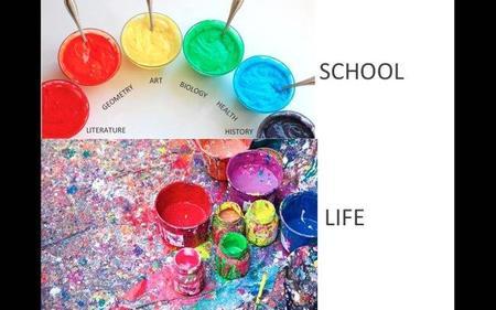 Diferencias entre la escuela y la vida