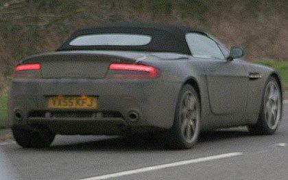 2007 Aston Martin V8 Vantage Convertible