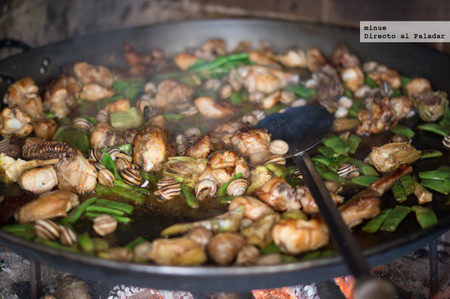 Paella Valenciana - ingredientes