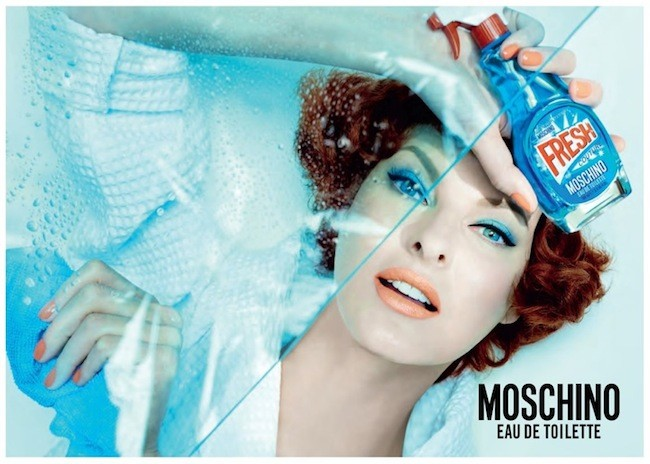 Moschino Fresh Couture Fragrance Ad Campaign01