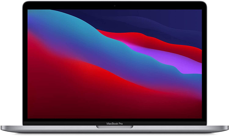 Nuevo Apple™ MacBook Pro (de trece pulgadas, Chip M1 de Apple™ con CPU de ocho núcleos y GPU de ocho núcleos, ocho GB(Gigabyte) RAM, 512 GB(Gigabyte) SSD) - Gris espacial