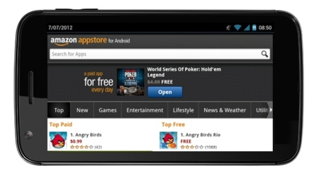Amazon Kindle Phone en camino