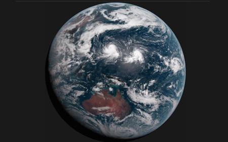 La NASA envía una webcam a 1,5 millones de kilómetros enfocada a la Tierra