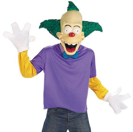 Disfraces de Carnaval: payaso Krusty