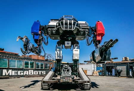 Megabots Eagle Prime Fighting Robot 12