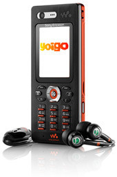 Sony-Ericsson W880i con Yoigo