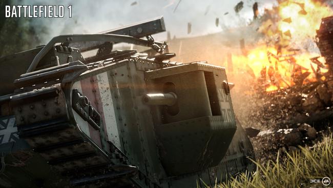 Battlefield 1 Tanque