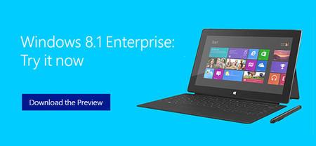 La versión de Windows 8.1 Enterprise, lista para descarga