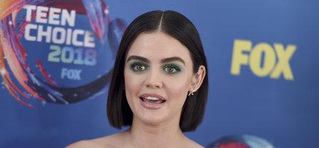 Lucy Hale confía en el verde esmeralda para acudir a los Teen Choice Awards 2018