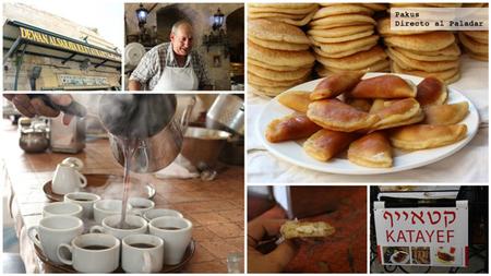 katayef y café en nazaret